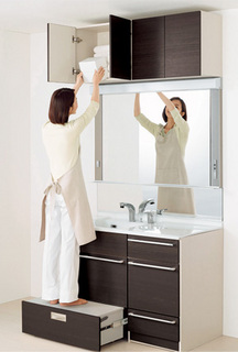 クリナップの化粧洗面台ティアリス