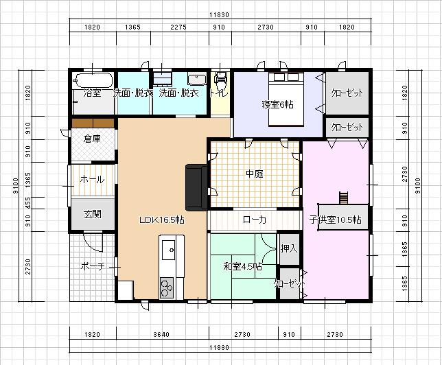 建物の平面をL型や凸凹型に ... : 倍 計算 : すべての講義